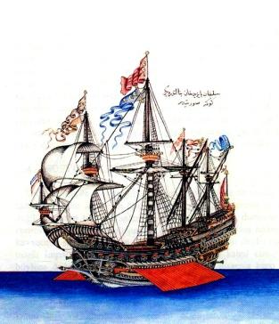 Göke_(1495)_the_flagship_of_Kemal_Reis