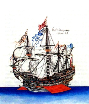 Göke_(1495)_the_flagship_of_Kemal_Reis
